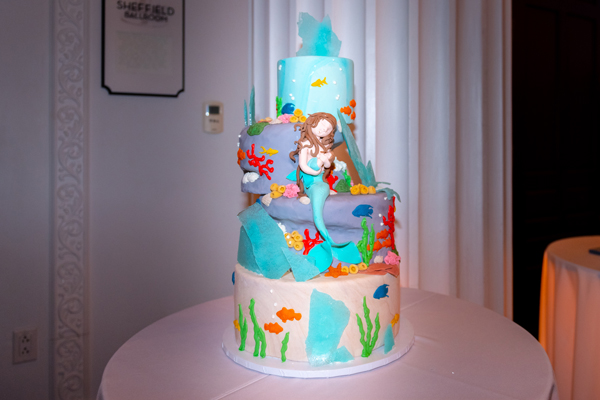 Mother Ocean cake by Queen of Tarts Bake Shoppe