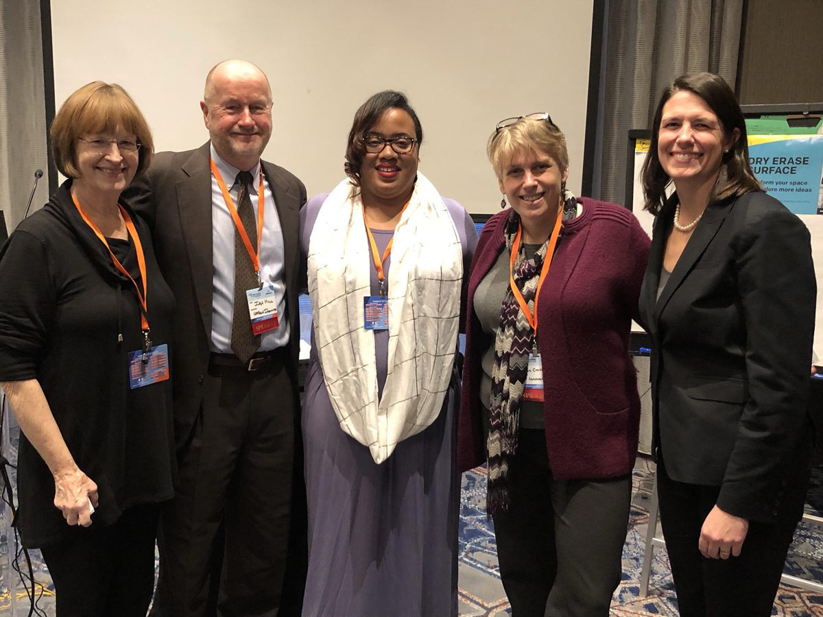 TMC Clinical Director Ann McCarthy, MSN, CNM with representatives from the American Association of Birth Centers, the Urban Institute, CMS, and the Clinical Director from the Community of Hope - Family Health and Birth Center in Washington, DC